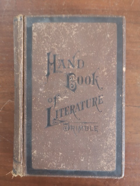 A hand book of english and amercican literature Esther J. Trimble 1884
