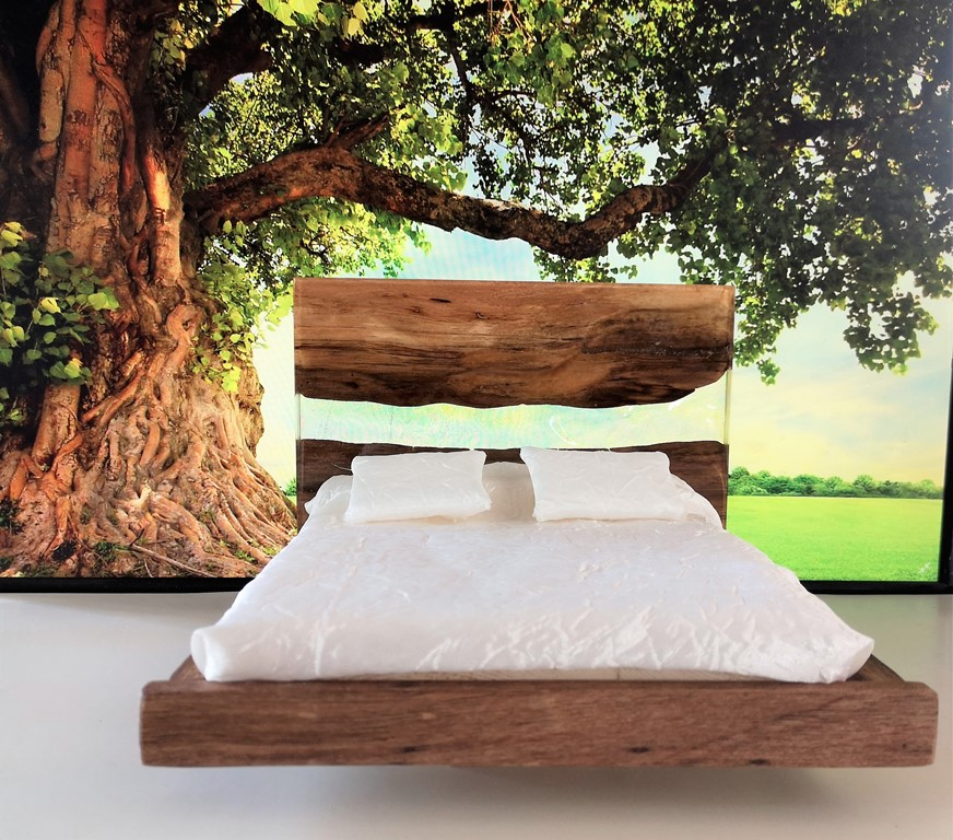 Meditation double bed