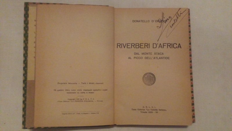 Riverberi D'Africa - Donatello D'orazio