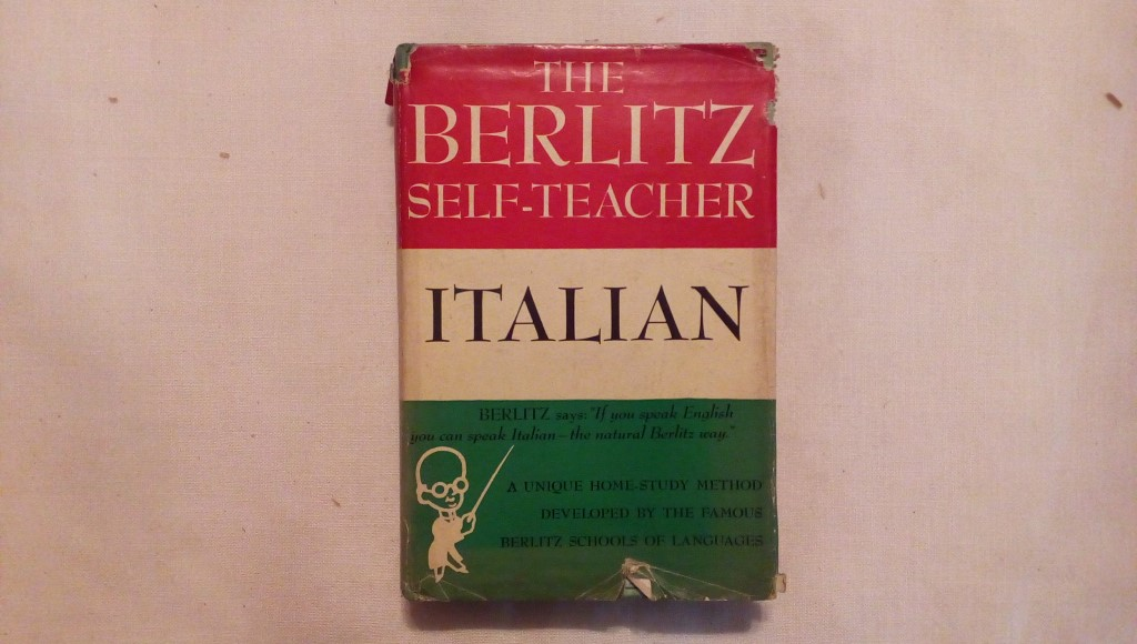 The berlitz self teacher italian - Berlitz schools 1950