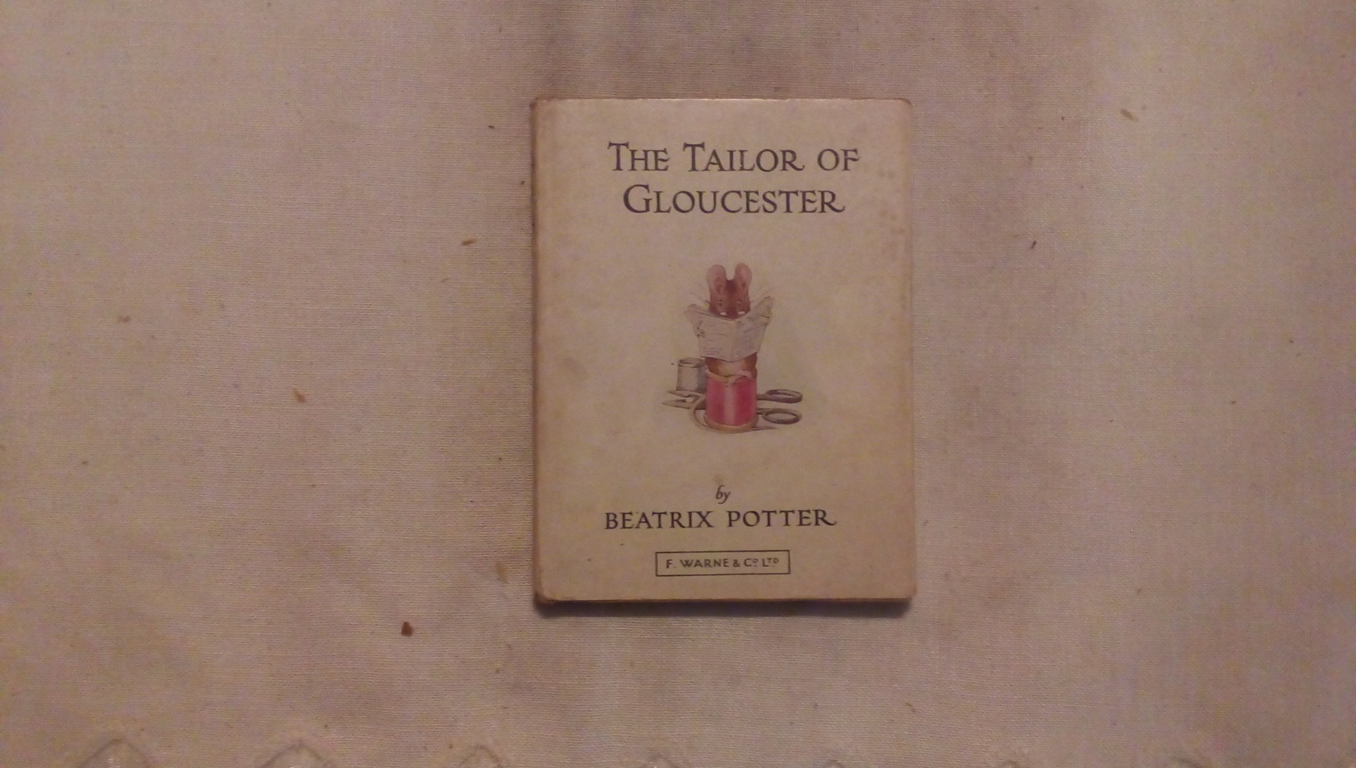 The tailor of glouchester - Beatrix Potter - F. Warne & C.